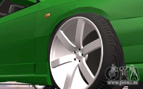 Opel Astra GSI Tuning pour GTA San Andreas sur la vue arrière gauche