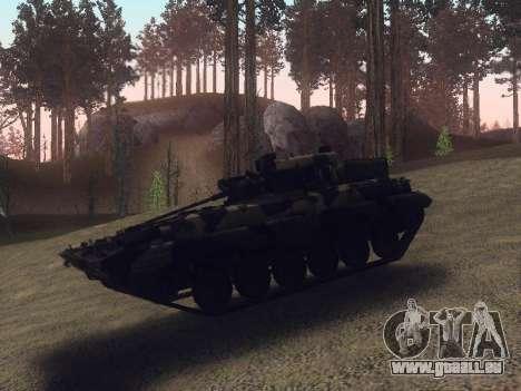 BMP-2 pour GTA San Andreas vue de dessus