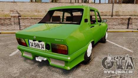Renault 12 Toros 2 pour GTA 4 Vue arrière de la gauche