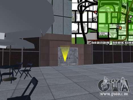 Texture améliorée intérieur « atrium » pour GTA San Andreas dixième écran