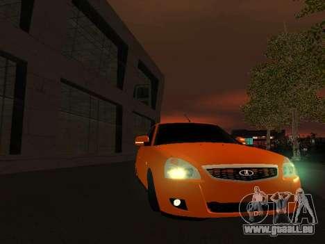 VAZ-2172 für GTA San Andreas Seitenansicht