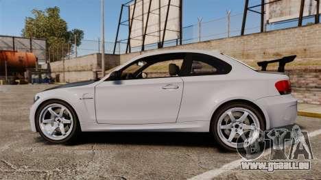 BMW 1M 2014 pour GTA 4 est une gauche