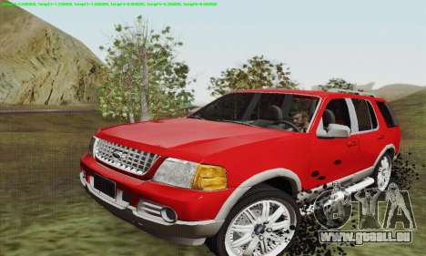 Ford Explorer 2002 pour GTA San Andreas