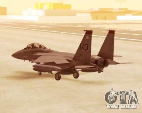 F-15E Strike Eagle für GTA San Andreas rechten Ansicht
