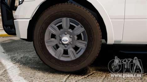 Ford F-150 2012 CEPS [ELS] für GTA 4 Rückansicht