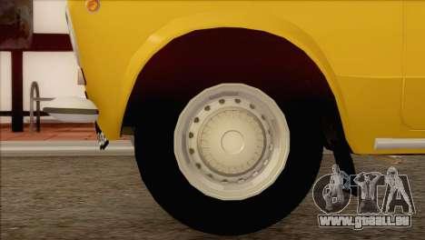VAZ 21011 Taxi für GTA San Andreas rechten Ansicht
