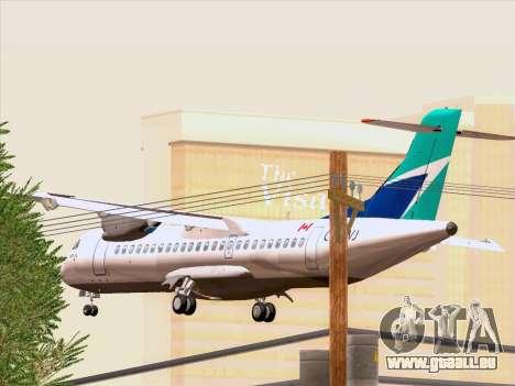 ATR 72-500 WestJet Airlines für GTA San Andreas Seitenansicht