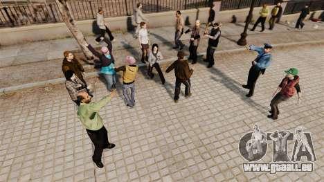Le Script-danse - pour GTA 4