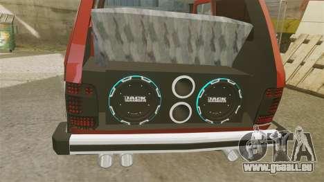 Vaz-21213 Niva LT pour GTA 4 est une vue de l'intérieur
