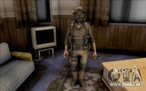 Captain Preis (Maske) für GTA San Andreas zweiten Screenshot