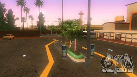 Gare routière, Los Santos pour GTA San Andreas troisième écran