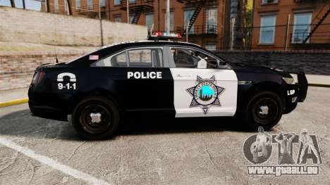 Ford Taurus Liberty State Police pour GTA 4 est une gauche
