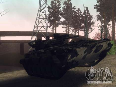 BMP-2 für GTA San Andreas zurück linke Ansicht