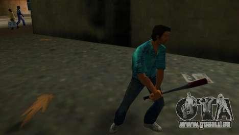 Batte de Baseball taché de sang GTA Vice City pour la deuxième capture d'écran