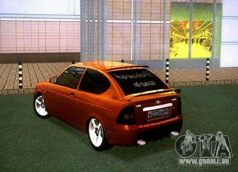 VAZ-2172 Coupé Sport pour GTA San Andreas laissé vue
