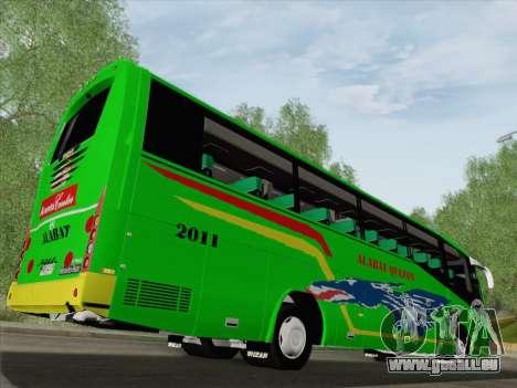 Irizar Mercedes Benz MQ2547 Alabat Liner pour GTA San Andreas roue