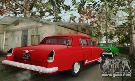 GAZ 21 Volga für GTA San Andreas Rückansicht