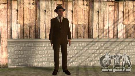 Cole Phelps de L.A. Noire pour GTA San Andreas