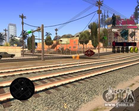 C-HUD LCN für GTA San Andreas dritten Screenshot