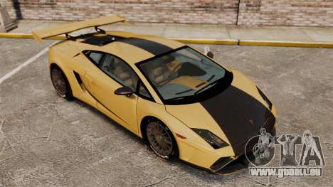 Lamborghini Gallardo 2013 v2.0 pour GTA 4 vue de dessus