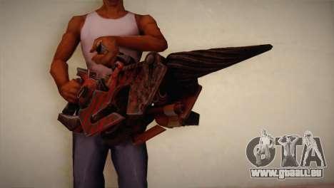 Flammenwerfer von Bulletstorm für GTA San Andreas dritten Screenshot