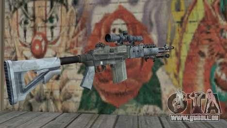 M14 EBR Blue Tiger für GTA San Andreas zweiten Screenshot