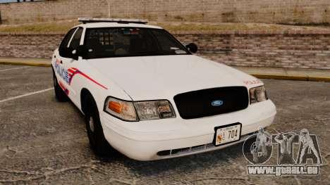 Ford Crown Victoria 2008 LCPD Patrol [ELS] für GTA 4