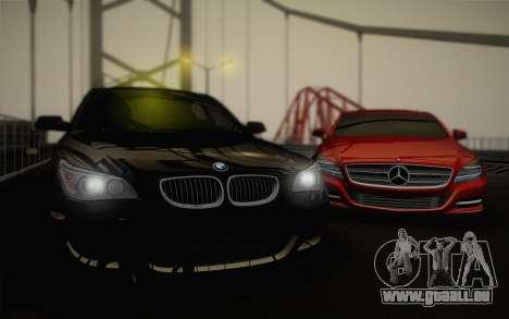 BMW M5 pour GTA San Andreas vue de côté