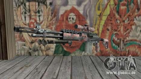 M14 EBR Red Tiger für GTA San Andreas