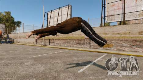 Parkour pour GTA 4 troisième écran
