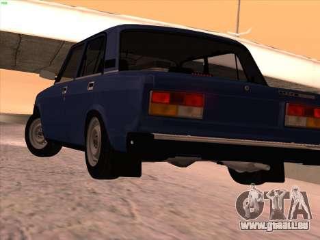ВАЗ 21074 pour GTA San Andreas vue de côté