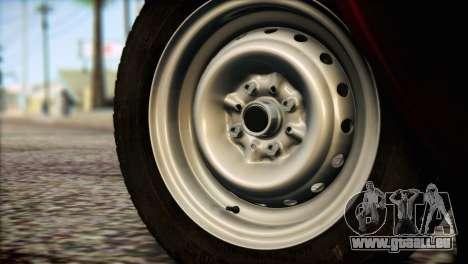 VAZ 21063 pour GTA San Andreas sur la vue arrière gauche