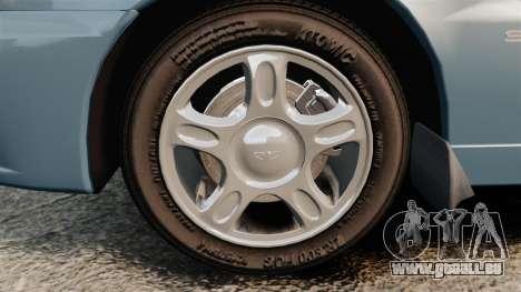 Daewoo Lanos 1997 PL pour GTA 4 Vue arrière