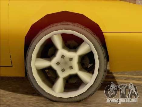 Stratum Sedan Sport für GTA San Andreas zurück linke Ansicht