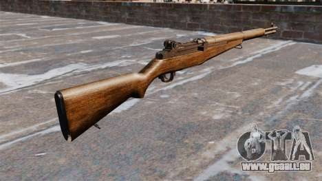Chargement automatique fusil M1 Garand v1.1 pour GTA 4 secondes d'écran