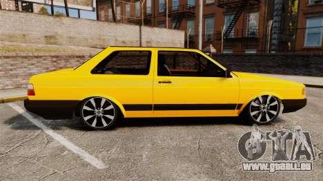 Volkswagen Voyage 1990 pour GTA 4 est une gauche