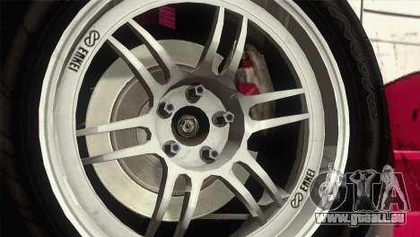 Honda S2000 RS-R pour GTA San Andreas vue de droite