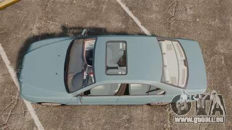 BMW 525i (E39) pour GTA 4 est un droit