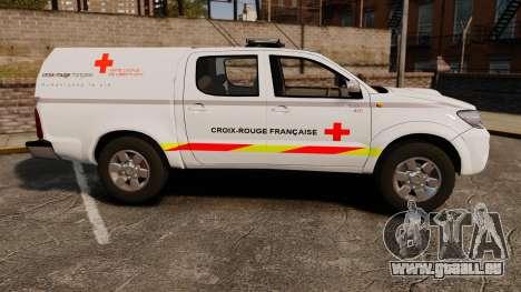 Toyota Hilux French Red Cross [ELS] für GTA 4 linke Ansicht