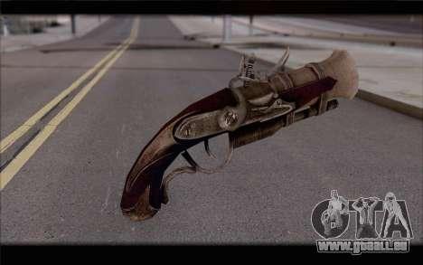 Tromblon pirate pour GTA San Andreas deuxième écran