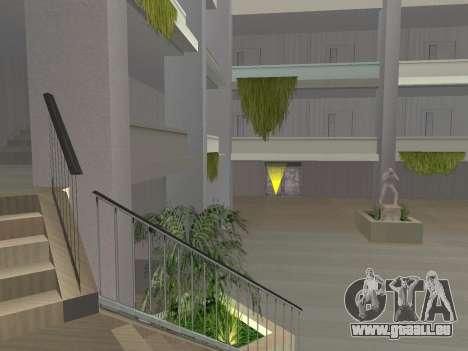 Texture améliorée intérieur « atrium » pour GTA San Andreas deuxième écran