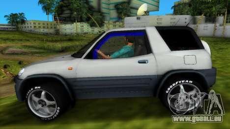 Toyota RAV 4 L 94 Fun Cruiser pour GTA Vice City vue de dessous