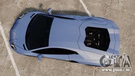 Lamborghini Aventador LP720-4 50th Anniversario für GTA 4 rechte Ansicht