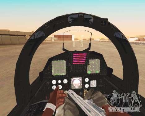 F-15E Strike Eagle für GTA San Andreas Unteransicht