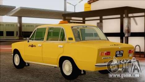 Taxi VAZ 21011 pour GTA San Andreas laissé vue