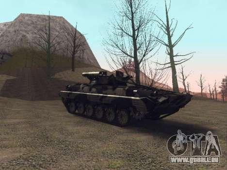 BMP-2 pour GTA San Andreas vue de côté