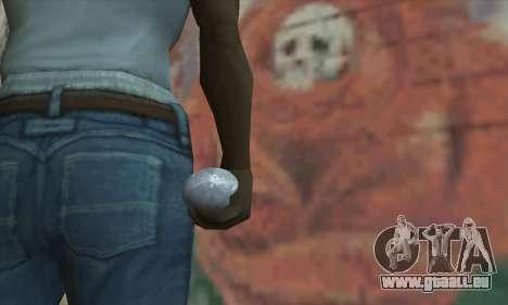 Grenade de Star Wars pour GTA San Andreas troisième écran