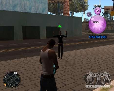 C-HUD Dony Scofield für GTA San Andreas zweiten Screenshot