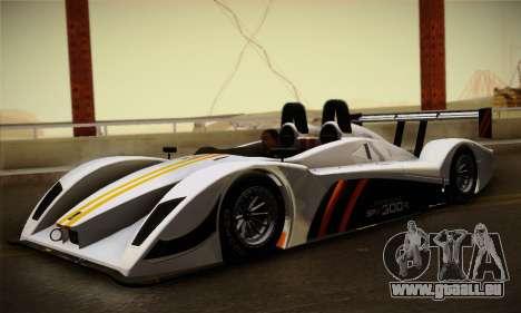 Caterham-Lola SP300.R für GTA San Andreas linke Ansicht