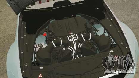 BMW M3 GTS Widebody pour GTA 4 est une vue de l'intérieur